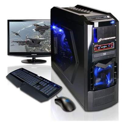 Игровой компьютер CyberPower использует NVIDIA GTX 570