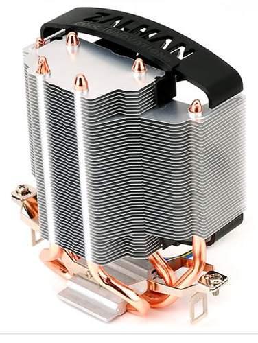 Кулер Zalman CNPS5X SZ имеет три тепловые трубки