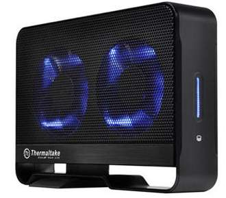 Корпус винчестера Thermaltake Max 5G с активным охлаждением