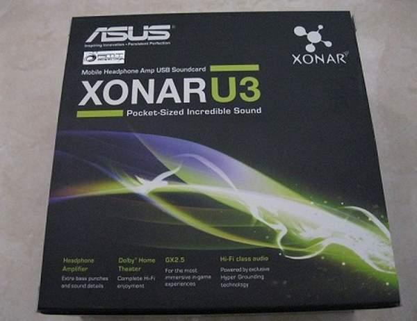 Упаковка Asus Xonar U3