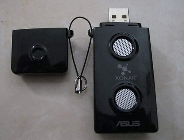 Для подключения к компьютеру Asus Xonar U3 имеет USB интерфейс