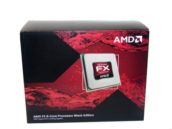 Упаковка процессора AMD FX-8150