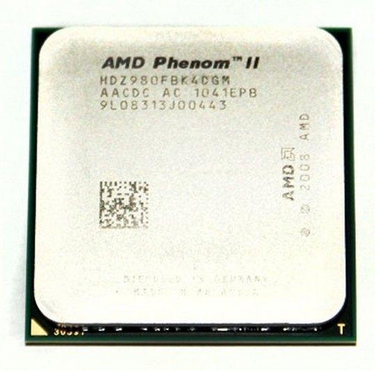 Процессор AMD Phenom II X4 980 BE