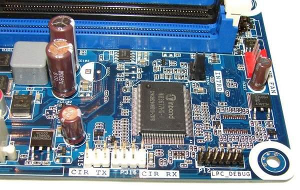 Дополнительные интерфейсы на материнской плате Intel DH67BL