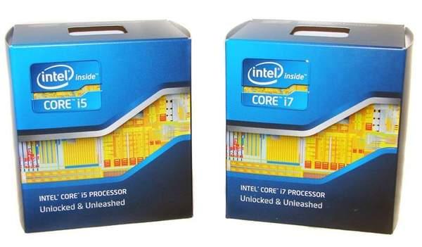 Розничная версия процессоров Core i7 2600K и Core i5 2500K