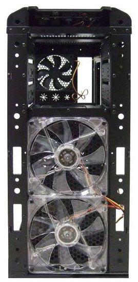 Корпус Enermax Ostrog GT: вентиляторы на передней стенке