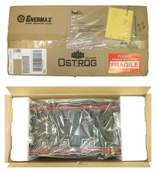 Упаковка корпуса Enermax Ostrog GT