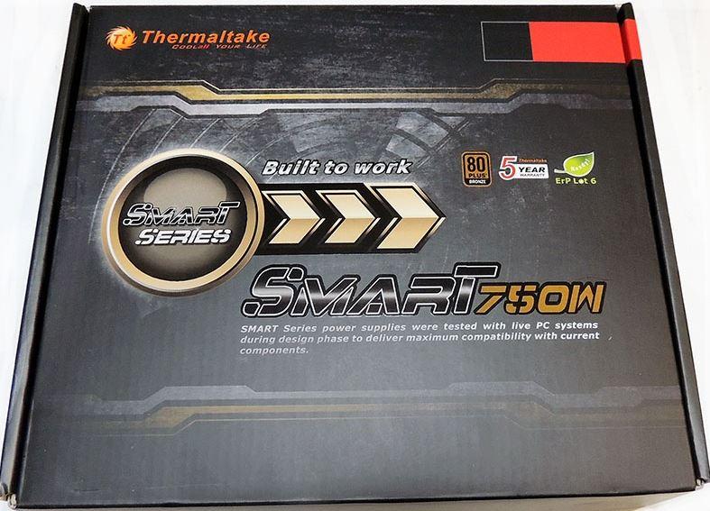 Осмотр блока питания Thermaltake Smart SP-750P
