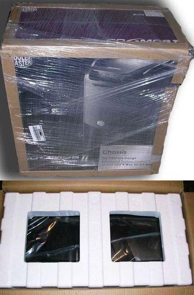 Упаковка корпуса CM Cosmos II Ultra Tower