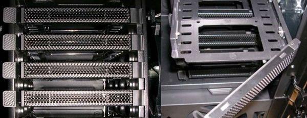 Посадочные места для жестких дисков
