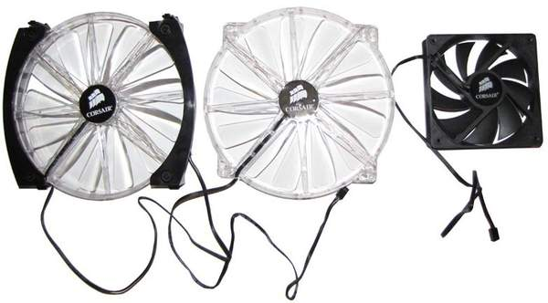 Вентиляторы в комплекте с Graphite 600T