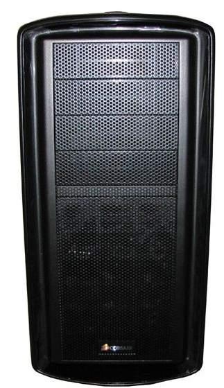 Corsair Graphite 600T - передняя панель