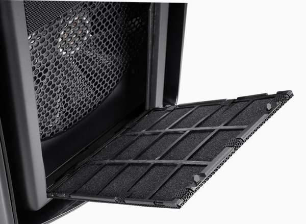 В 600T хорошо продумана система очистки фильтров вентиляторов