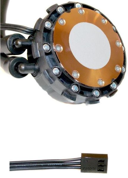 Основание с термопастой Corsair Hydro Series H110