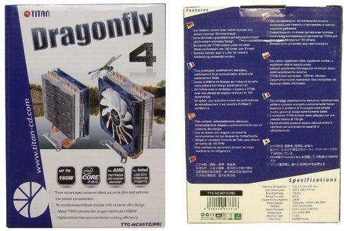 Блиц-обзор кулера Titan Dragonfly 4