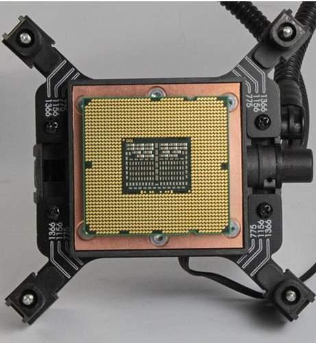 Размер водоблока CoolIT Eco и CPU