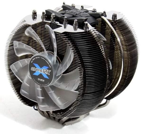 Скорость вращения вентиляторов Zalman CNPS12X можно регулировать
