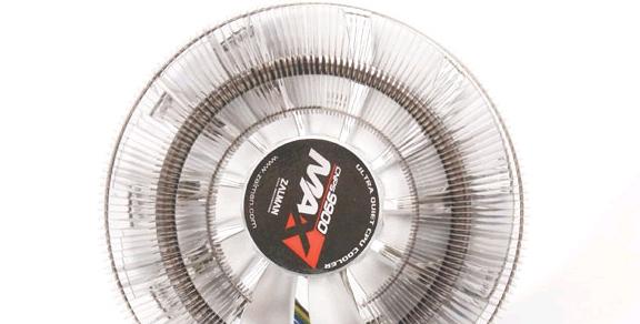 Штатный вентилятор ZALMAN CNPS9900 MAX не из лучших