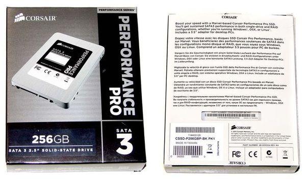 Упаковка SSD Performance Pro