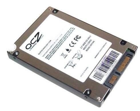 Обратная сторона SSD OCZ Agility 2