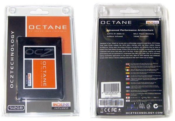 Упаковка OCZ Octane
