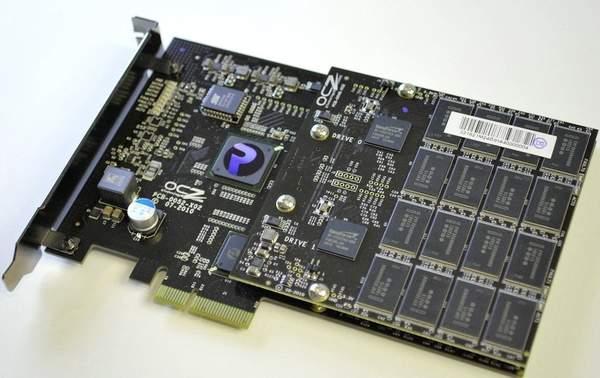 Твердотельный накопитель SSD OCZ RevoDrive X2 100 Гб PCIe