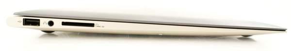 Левая сторона Asus Zenbook UX31