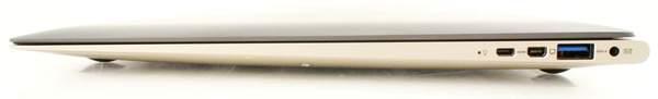 Правая сторона Asus Zenbook UX31