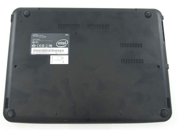 Samsung ChromeBook - нижняя сторона