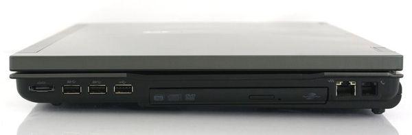 Правая сторона ноутбука HP EliteBook 8740w