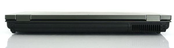 Задняя сторона ноутбука HP EliteBook 8740w