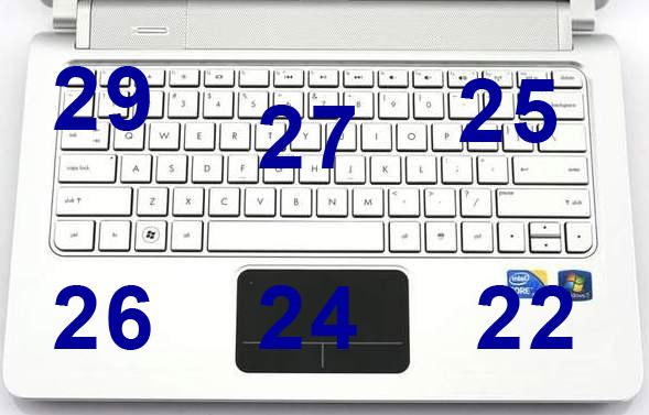 Нагрев в верхней части ноутбука HP Pavilion dm3t