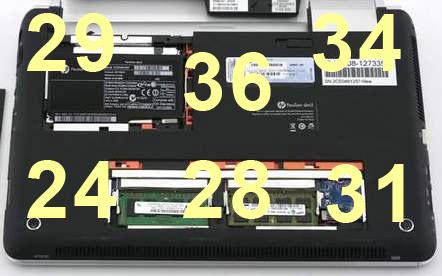 Нагрев в нижней части ноутбука HP Pavilion dm3t