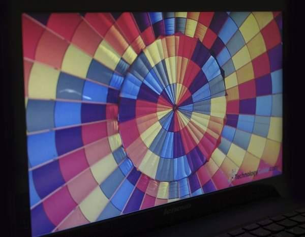 Горизонтальные углы обзора Lenovo B470