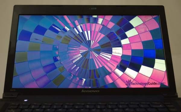 Дисплей ноутбука Lenovo B470