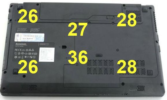 Нагрев ноутбука Lenovo G570