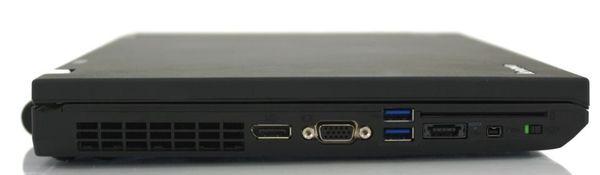 Ноутбук Lenovo ThinkPad W520 - вид справа