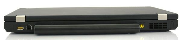 Ноутбук Lenovo ThinkPad W520 - вид сзади