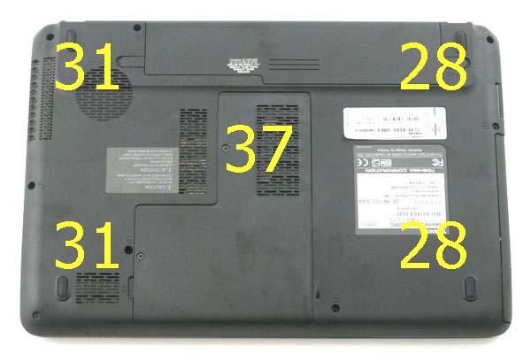 Температура ноутбука Toshiba Satellite L735