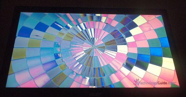 Вертикальный угол обзора Acer Ultra M3