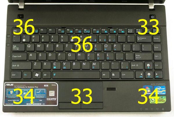 Нагрев ноутбука Asus B23E