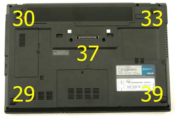 Температура ноутбука Asus B23E