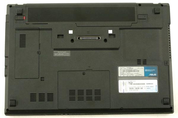 Нижняя часть ноутбука Asus B23E