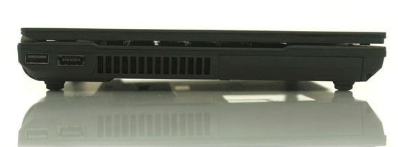 Левая сторона ноутбука Asus B23E