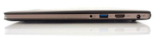 Правая сторона Lenovo IdeaPad U300s