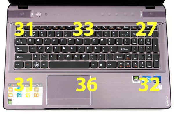 Нагрев ноутбука Lenovo IdeaPad Y570
