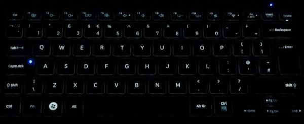 Подстветка клавиатуры