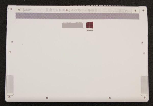 Основание ноутбука Acer Aspire S7