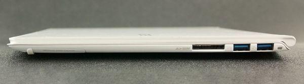 Правая сторона ноутбука Acer Aspire S7