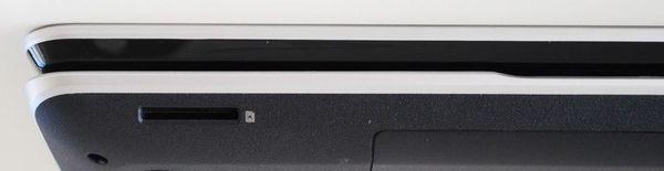 Передняя сторона ноутбука HP ENVY dv7